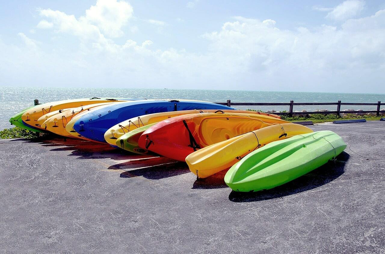 kayak en les rotes